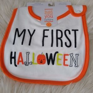 Halloween Teething Bib
